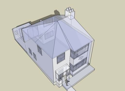 Potential House in SketchUp
