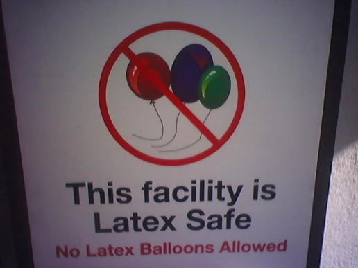 No balloons for you.