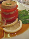 Monk Fish Liver with Tomatoes