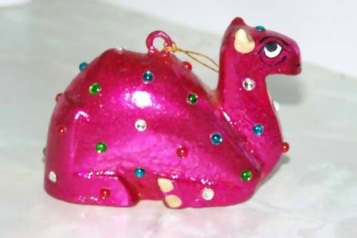 The pink spangled camel