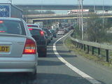 Oh dear! Holiday traffic