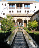 Formal gardens Alhambra - Generalife