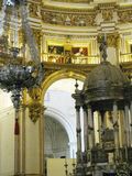Granada Cathedral, tabernacle and pulpit