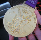 the gold medal...